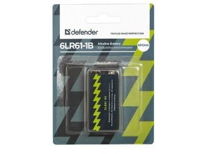 Батарея ALKALINE 6LR61-1B 9V 56042 DEFENDER