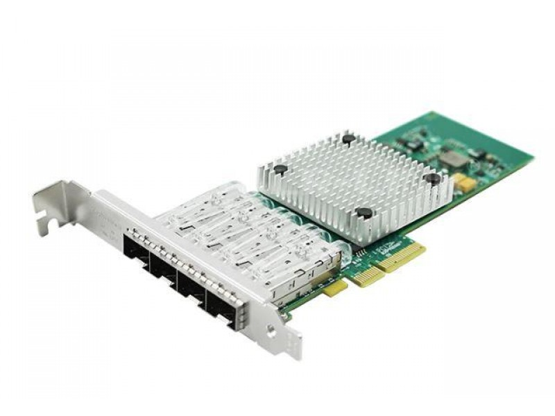 Сетевой адаптер PCIE 1GB 4SFP LREC9714HF-4SFP LR-LINK