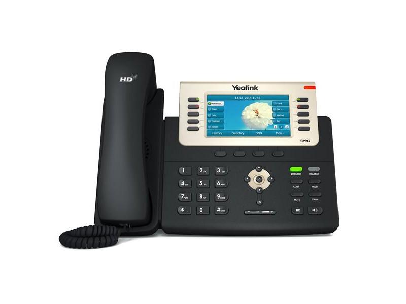 Телефон VOIP 16LINE SIP-T29G YEALINK
