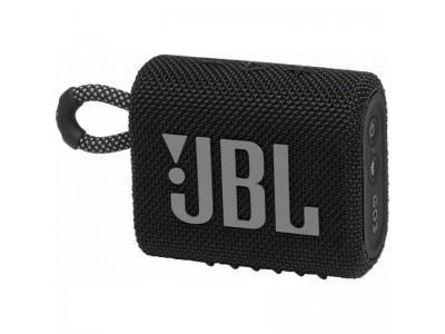 Акустическая система 1.0 BLUETOOTH GO 3 BLACK JBL