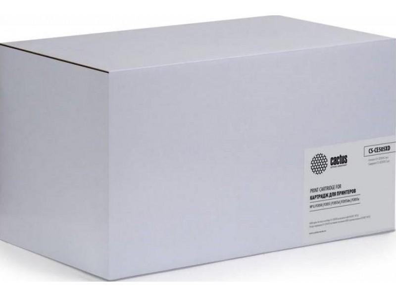 Картридж BLACK /LJ 2055 2PACK CS-CE505XD CACTUS