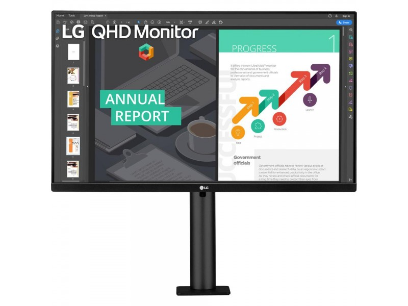 "Монитор LCD 27"" IPS 27QN880-B LG"