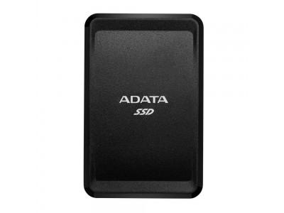 SSD жесткий диск USB-C 500GB EXT. BLACK ASC685-500GU32G2-CBK A-DATA