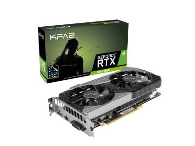 Видеокарта KFA2 RTX2060 SUPER 8GB 2060 SUPER 1-CLICK OC 8G