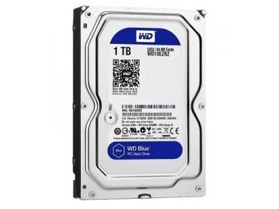 Жесткий диск SATA 1TB 6GB/S 64MB BLUE WD10EZRZ WDC