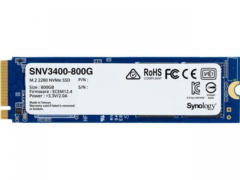 SSD жесткий диск M.2 2280 800GB SNV3400-800G SYNOLOGY