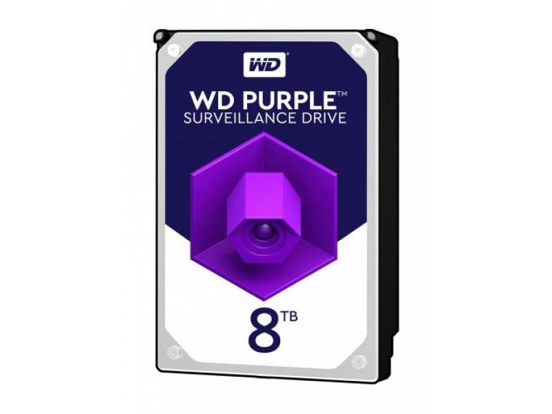 Жесткий диск SATA 8TB 6GB/S 256MB PURPLE WD82PURZ WDC