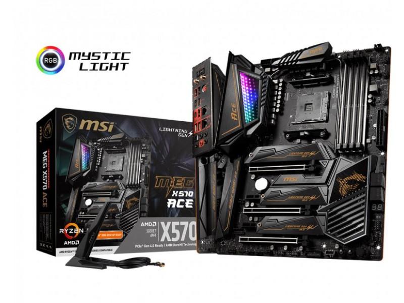 Материнская плата AMD X570 SAM4 ATX MEG X570 ACE MSI