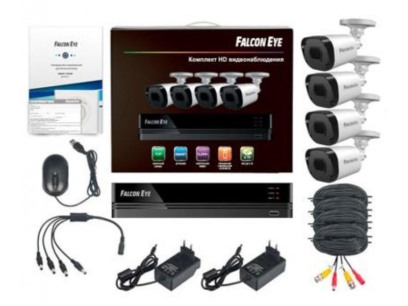 Комплект видеонаблюдения 8CH + 4CAM KIT FE-1108MHD SMAR 8.4 FALCON EYE