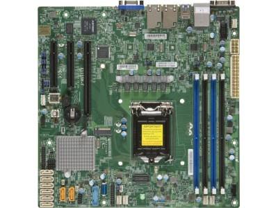 Серверная материнская плата C236 S1151 MATX BLK MBD-X11SSH-F-B SUPERMICRO