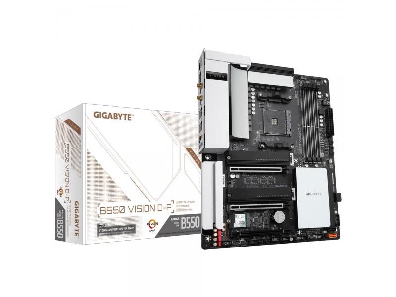 Материнская плата AMD B550 SAM4 ATX B550 VISION D-P GIGABYTE