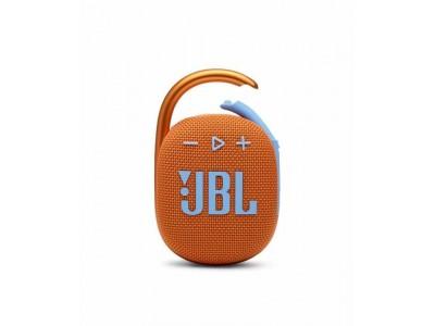 Акустическая система 1.0 BLUETOOTH CLIP 4 ORANGE JBL