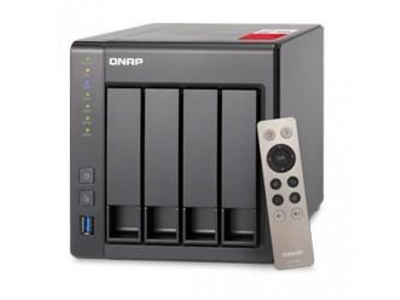 СХД настольное исполнение 4BAY 8GB TS-451+-8G QNAP