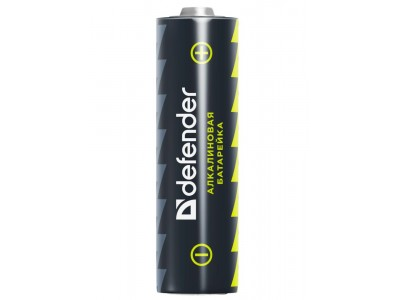 Батарея ALKALINE AA 1.5V LR6-2B 2PCS 56013 DEFENDER