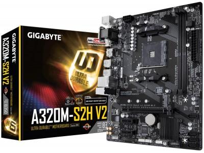 Материнская плата AMD B350 SAM4 MATX GA-A320M-S2H V2 V1.1 GIGABYTE