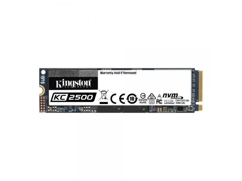 SSD жесткий диск M.2 2280 2TB SKC2500M8/2000G KINGSTON
