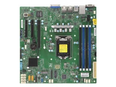 Серверная материнская плата C242 S1151 MATX MBD-X11SCL-F-O SUPERMICRO