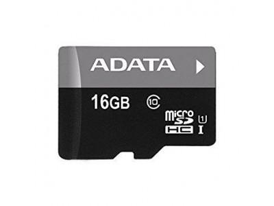 Карта памяти MICRO SDHC 16GB CLASS10 AUSDH16GUICL10-R ADATA