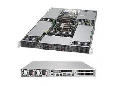 Серверная платформа 1U SATA BLACK SYS-1028GR-TR SUPERMICRO