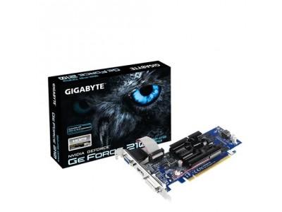 Видеокарта PCIE16 210 1GB GDDR3 GV-N210D3-1GI V6.0 GIGABYTE