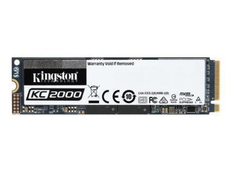 SSD жесткий диск M.2 2280 2TB SKC2000M8/2000G KINGSTON