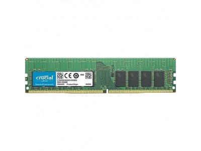 Модуль памяти CRUCIAL DDR4 16Гб RDIMM/ECC 2666 МГц Множитель частоты шины 19 CT16G4RFD8266