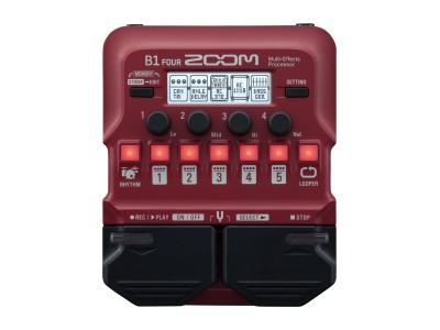 Басовый процессор Zoom B1 FOUR