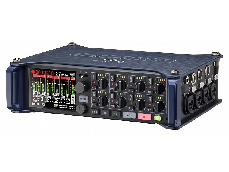 Портативный рекордер-портастудия Zoom F-8n