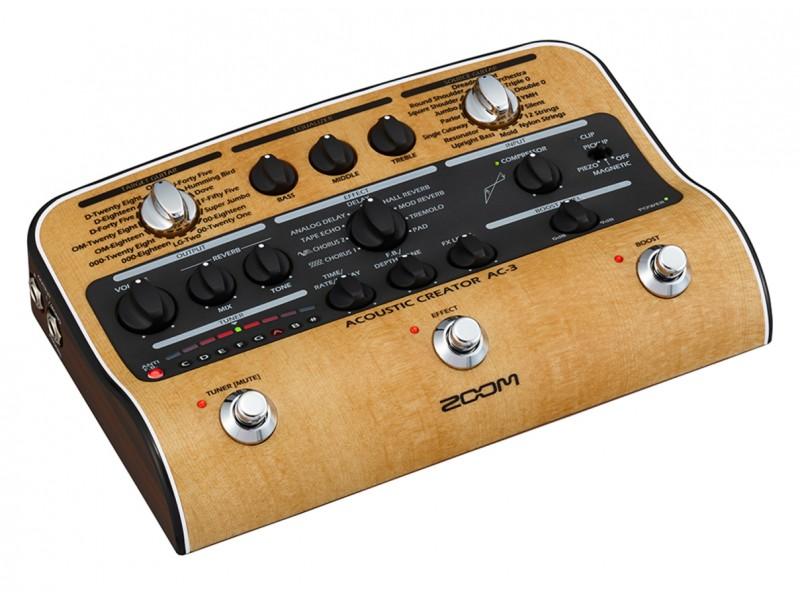 Гитарный процессор Zoom AC-3