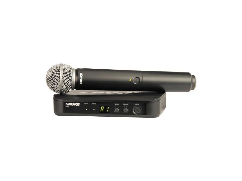 SHURE BLX24E/SM58 M17 662-686 MHz