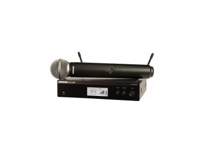 SHURE BLX24RE/SM58 M17 662-686 MHz