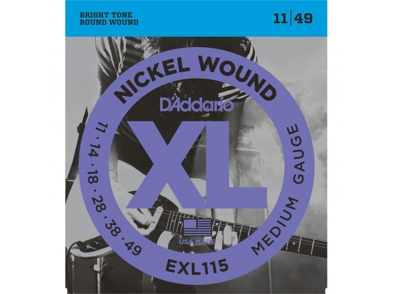 D'ADDARIO EXL115