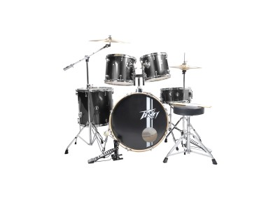 Peavey PV 5PC Drum Set Black