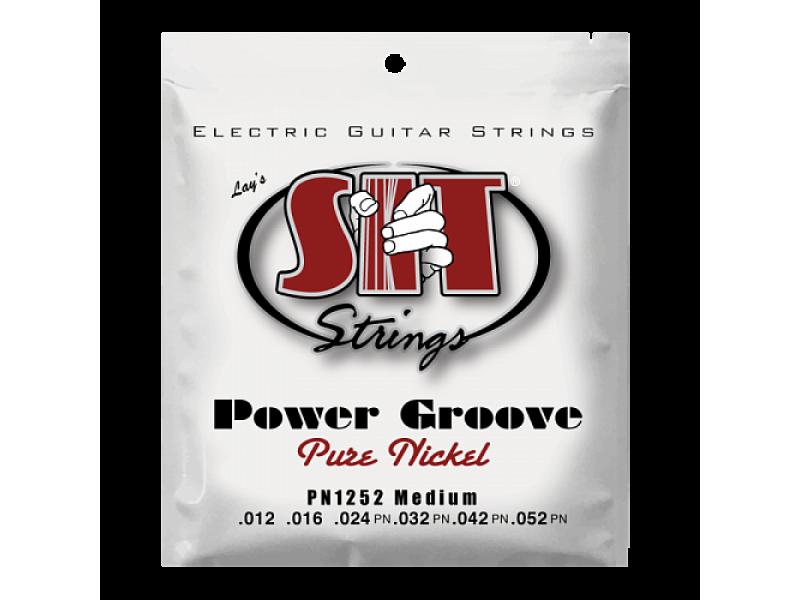 SIT PN1252, Power Groove Pure Nickel Medium, 12-52