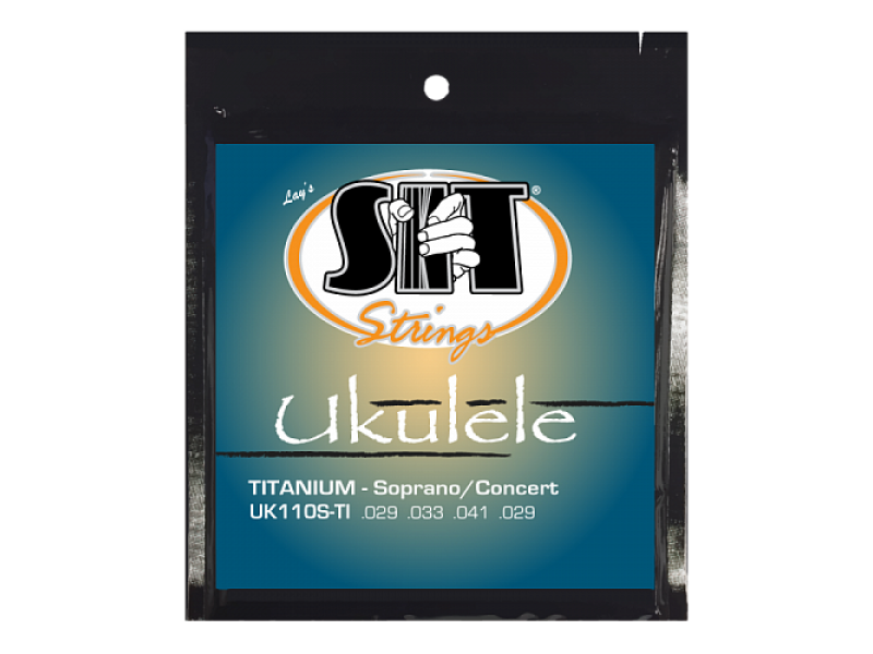 SIT UK110S-TI, Ukulele Standard Black (Soprano / Concert)