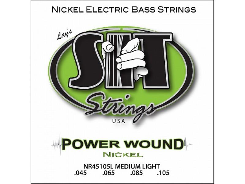 SIT NR45105L, Powerwound Nickel Medium Light, 45-105